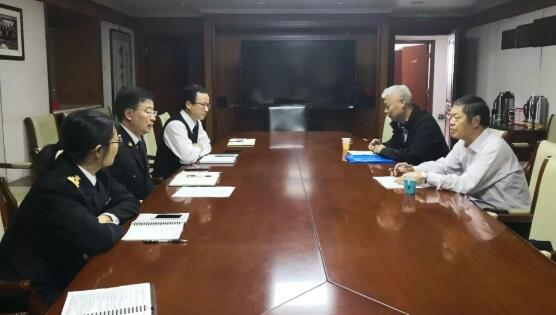 葛连成会长走访海关总署统计司、企管司