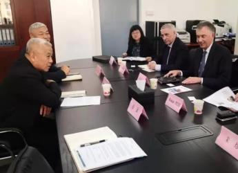 COTECNA集团一行到访中国报关协会